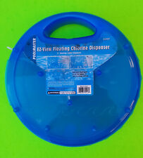 "POOLMASTER EZ-View Clear-View Floating Chlorine Dispenser 3"" tablets FREE SHIP"