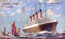 White Star Line Triple-Screw RMS Olympic.