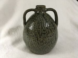 Rare Cleater And Billie Meaders Tobacco Spit Altanta History Museum Jug 7/24