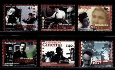 SELLOS  CINE. PORTUGAL 1996 100 AÑOS DE CINE  2112/17 6v.