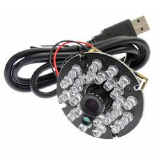 1 Mega Pixels Cmos Mjpeg/Yuy2 Color Camera Module Usb Interface with Ir Leds New