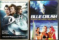 SERATA SURF - DRIFT CAVALCA L'ONDA (2013) + BLUE CRUSH (2002)   2DVD EX NOLEGGIO