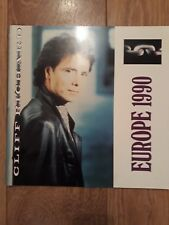 CLIFF RICHARD : EUROPE 1990 TOUR PROGRAMME EXCELLENT