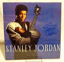 Stanley Jordan Signed Autographed Album B