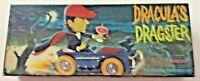 Dracula's Dragster Model Kit Aurora Vintage 1964  - #466-98 box only-vampire