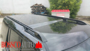 Black Roof Rail suitable for Land Rover Discovery 3/4