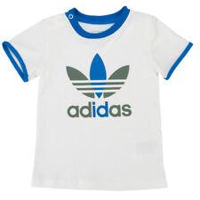adidas Originals Baby Boys Trefoil White T-Shirt Size 92 O58868