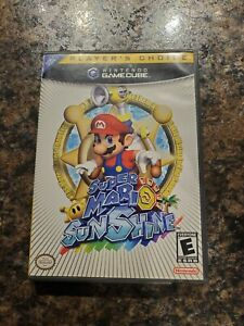 Super Mario Sunshine (GameCube, 2002) - Tested, disc and case