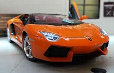 Coche de automodelismo y aeromodelismo color principal naranja Lamborghini