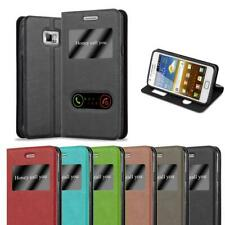 Case for Samsung Galaxy S2 / S2 PLUS Phone Cover Viewing Windows Wallet Book