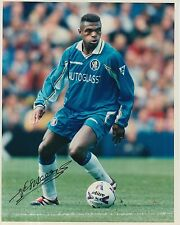 CHELSEA HAND SIGNED MARCEL DESAILLY 10X8 PHOTO.