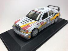 Mercedes 190e 2.3 AMG w201 1984 negro maqueta de coche 1:18 Otto Mobile