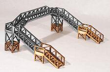 FB005 Footbridge Height Extension OO Gauge Model Laser Cut Kit