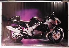 """SUZUKI HAYABUSA GSX1300R SPORT BIKE MOTORCYCLE POSTER 24.25"""" X 36.50"""" (b377)NOS"""