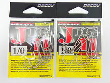 DECOY - 2pack x JIG 11 STRONG WIRE #1/0