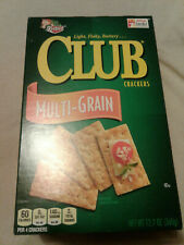 Keebler Multi Grain Club Crackers 12.7 oz EXP 11/13/20