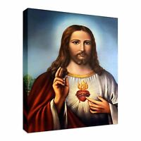Jesus Christ Painting Canvas Wall Art Picture Print