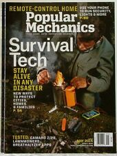 POPULAR MECHANICS Magazine Survival Tech REMOTE-CONTROL Home