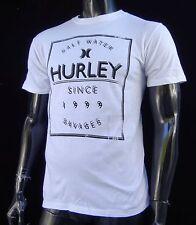 New Classic Hurley Surfing Team Salt Water Mens Slim Sport T shirt