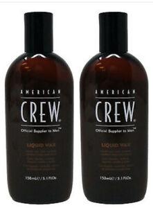 American Crew Liquid Wax,Hair Control,Medium Hold Shine,5.1 oz (2 Pack) $7.49 EA