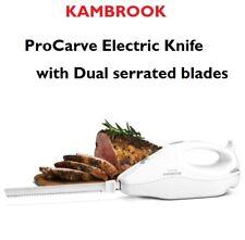 Kambrook KEK120WHT ProCarve Electric Knife - White