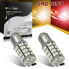 2x 1157 Red/Amber Dual Chip Switchback Front Turn Signal Light LED Bulb 1034