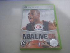 Microsoft Xbox 360 NBA live 06 basketball video game