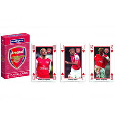ARSENAL – WODDINGTONS CLASSIC PREMIUM PLAYING CARDS OFFICIALLY LICENSED