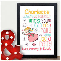 Fairy Birthday Gifts Personalised Daughter Girls Her Niece Little Girls Presents