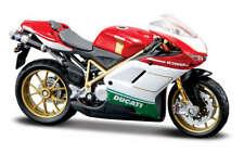 Ducati 1098 S Tricolor, maisto Moto Modèle 1:18, Emballage D'Origine, Neuf