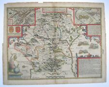 Hertfordshire: antique map by John Speed, 1610 (1662 edition)