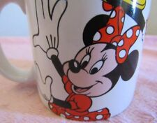 """MINNIE MOUSE COFFEE/TEA  MUG  MARKED """" c) DISNEY""""   FUNNY AND COLLECTIBLE!"""