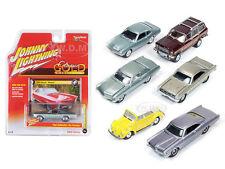 CLASSIC GOLD RELEASE 1 SET B SET OF 6 CARS 1/64 BY JOHNNY LIGHTNING JLCG001B