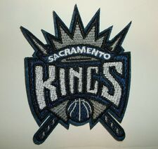 "Sacramento Kings Embroidered PATCH~3"" x 3 7/8""~Iron Sew~NBA~US Seller~Ships FREE"