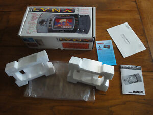 Atari Lynx box with all the original packing and instruction manual