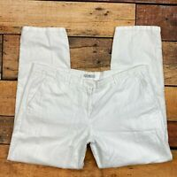 Gap  NWT NEW Womens Linen Utility Short Optic White Summer Shorts 16