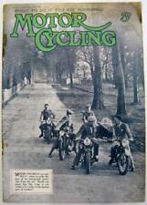 MOTOR CYCLING 29 Jan 1936 Original Motoring Motorcycle Magazine