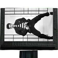 Elvis Jailhouse rock BLACK TRIFOLD NYLON WALLET Great Gift Idea