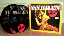 VAN HALEN  -  Live In Concert  -  2 CD's Digipack RAR !!!!!