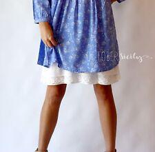 Half Slip Lace & Chiffon Dress Skirt Extender *style LC*-- 3 Colors, Sizes S-2XL