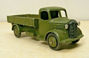 Dinky Toys #30sm Austin 3 Ton Army Cargo Truck (missing body cover)