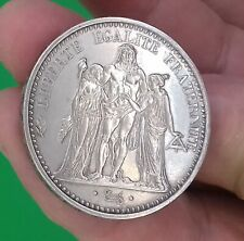 10 francs hercule 1965 en argent  (french silver coin) 25 grammes