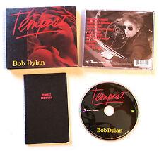 BOB DYLAN - TEMPEST / RARE COFFRET AVEC BLOC NOTE COLUMBIA 88725457602