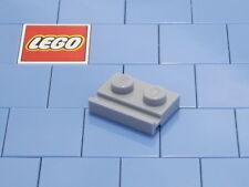 Lego 32028 1x2 Light Bluish Gray ( Grey ) Modified Plate With Door Rail X 4 NEW