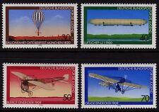W Germany 1978 Youth Welfare Aviation SG 1856-1859 MNH