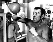 Alan Minter Speedball Boxing 10x8 Photo
