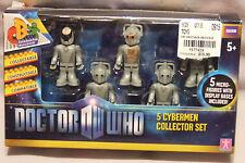 Doctor Who 5 Cybermen Collector Set New NIB