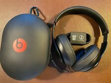 Beats by Dr. Dre Studio 3 Wireless Matte Black Over Ear Headphones