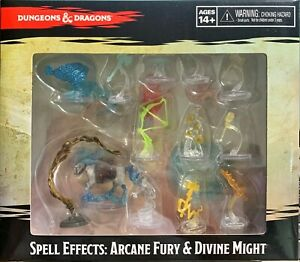 WizKids D&D Icon of the Realms : Spell Effects : Arcane Fury & Divine Might