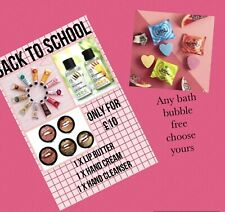 The Body Shop Back To School Bundle Gift Set New